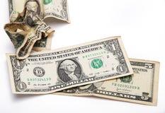 Dollar zeven Stock Afbeeldingen