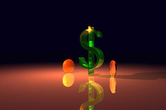 Dollar2 Immagine Stock