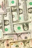 Dollarachtergrond Stock Afbeeldingen