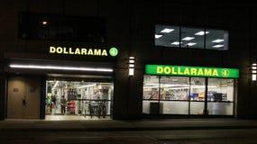 Dollarama, Vancouver, BC. Royalty Free Stock Photography
