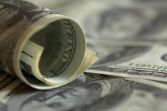 Dollaranmerkungen Lizenzfreies Stockfoto