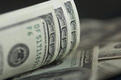 Dollaranmerkungen Lizenzfreie Stockfotos