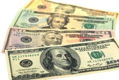 Dollarbanknote-Geldhintergrund lizenzfreies stockbild