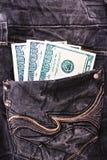 Dollarbanknoten Lizenzfreie Stockfotos
