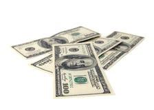 Dollarbanknoten. Lizenzfreies Stockfoto