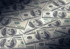 Dollarbanknoten Lizenzfreie Stockfotografie