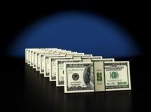 100 Dollarbanknoten lizenzfreie abbildung