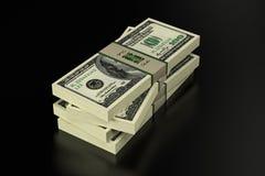 100 Dollarbanknoten stock abbildung