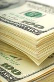 Dollarbanknoten-Geldhintergrund lizenzfreies stockfoto