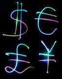 Dollarbargeld Stockfoto