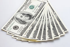 Dollarbills Arkivfoton