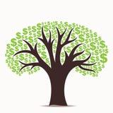 Dollarboom vector illustratie