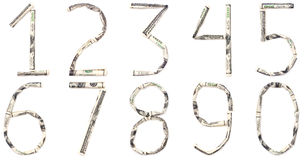 dollardiagram Royaltyfri Fotografi