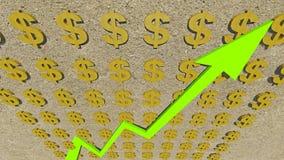 Dollaren Royaltyfri Bild
