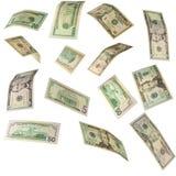 dollaren bemärker oss Royaltyfria Foton