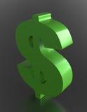 Dollaren undertecknar Royaltyfria Bilder