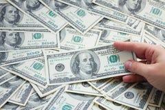 Dollargeld Royalty-vrije Stock Afbeeldingen
