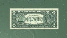 Dollargeldanmerkungs-Erfolgsgrün lizenzfreie abbildung