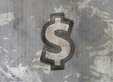 Dollargeldkennsatz Stockfoto