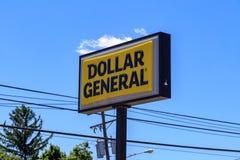 Dollargeneraltecken Arkivbilder