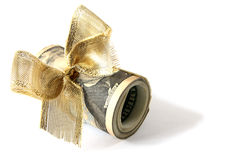 Dollargeschenk Lizenzfreies Stockfoto