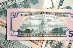 Dollarhintergrund Lizenzfreies Stockbild