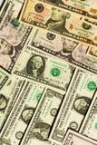 Dollarhintergrund Stockfoto