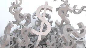 Dollari Fotografie Stock