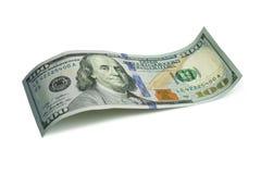 100 dollari americani Fotografie Stock Libere da Diritti