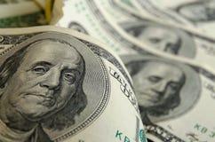 Dollari americani dei contanti fotografie stock
