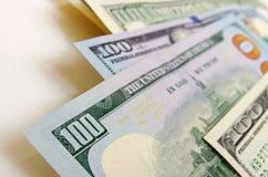 Dollari americani dei contanti Immagine Stock