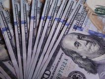 Dollari americani di contanti Fotografie Stock