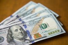 Dollari americani di note fotografia stock