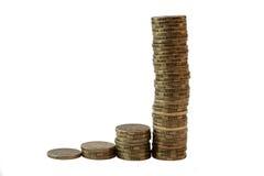 Dollari australiani aumentanti Fotografie Stock Libere da Diritti
