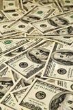 Dollari dei soldi Fotografia Stock