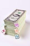 Dollari del capitale di famiglia Immagine Stock Libera da Diritti