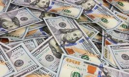 Dollari del fondo Fotografia Stock