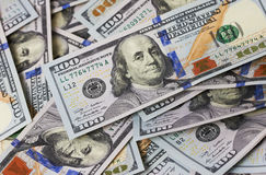 Dollari del fondo Fotografie Stock