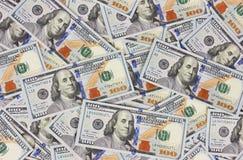 Dollari del fondo Immagini Stock