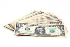 Dollari del og della pila Immagine Stock Libera da Diritti