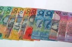 Dollari dell'Australia fotografia stock