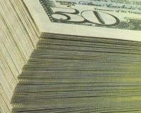 Dollari delle banconote Immagini Stock