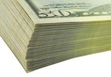 Dollari delle banconote Fotografie Stock Libere da Diritti