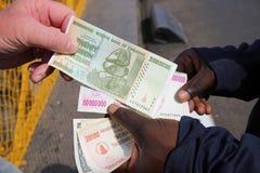 Dollari dello Zimbabwe Immagini Stock Libere da Diritti