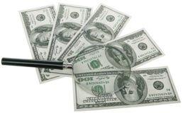 Dollari di 500$ Fotografia Stock Libera da Diritti