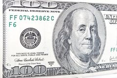 Dollari di banconota Fotografie Stock