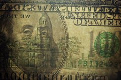 Dollari di fondo Immagini Stock