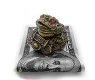 Dollari di investimento di finanza dei soldi Fotografia Stock