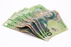 Dollari di Nuova Zelanda Fotografie Stock Libere da Diritti