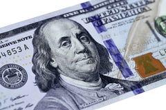 Dollari di primo piano Immagini Stock Libere da Diritti